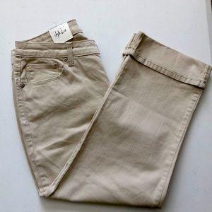 NWT Style & Co Plus Size Curvy Cuffed Capri Jeans